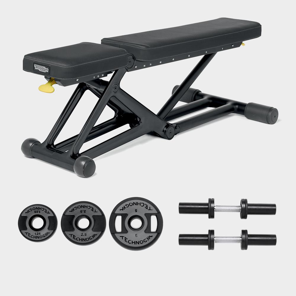 Bench Personal Black 55kg